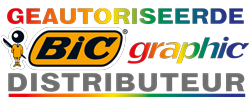 Geautoriseerde BIC graphic distributeur
