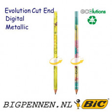 BIC® Evolution Metallic Digital ECOlutions® Cut End potlood