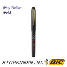 BIC® Grip Roller Gold pen