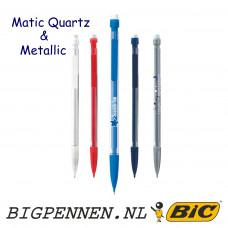 BIC® Matic® Quartz en Quartz Metallic potlood