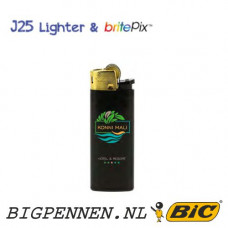 BIC® J25 aansteker mini All Black Gold Hood