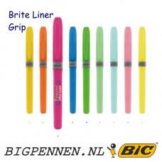 BIC® Brite Liner® Grip markeerstift