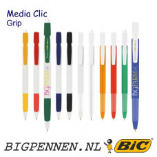 BIC® Media Clic grip balpen