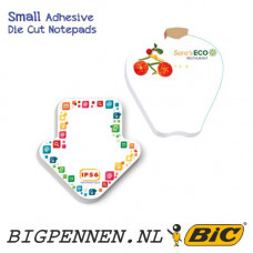 BIC® Small Adhesive Die Cut Notepads