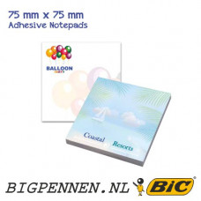 BIC® ECOlutions® 75 mm x 75 mm Adhesive Notepads