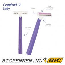 BIC® Comfort 2 Lady scheermesje