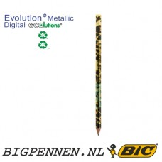 BIC® Evolutions® Metallic Digital ECOlutions® Cut End potlood