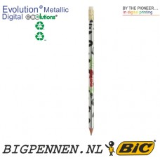 BIC® Evolutions® Metallic Digital ECOlutions® Eraser potlood