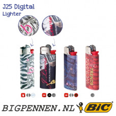 BIC® J25 Digital aansteker mini