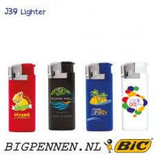 BIC® J39 aansteker mini Chrome Hood electronic