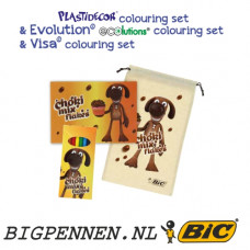 BIC® Plastidecor® colouring set