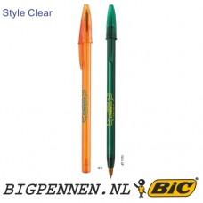BIC® Style Clear balpen